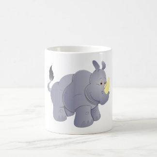 Rhinoceros rhino rhinoceros coffee mug