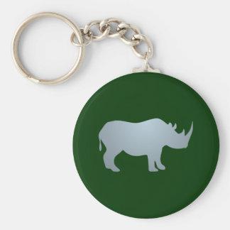 Rhinoceros rhino rhinoceros key ring