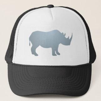 Rhinoceros rhino rhinoceros trucker hat