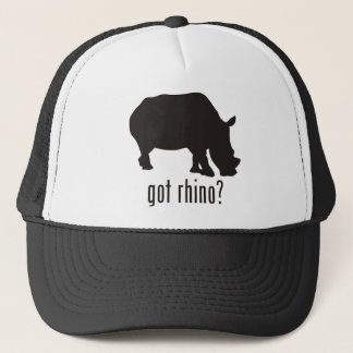 Rhinoceros Trucker Hat