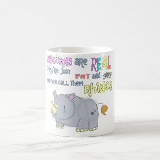 rhinos are just ugly unicorns mug