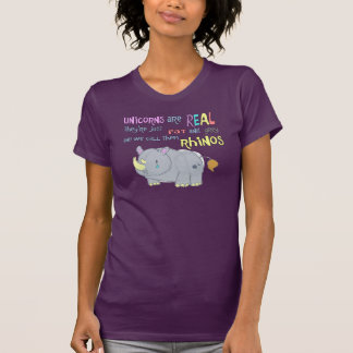 rhinos are just ugly unicorns T-Shirt