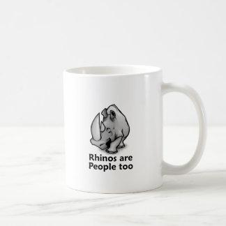 Rhinos are People too Coffee Mug