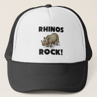 Rhinos Rock Trucker Hat