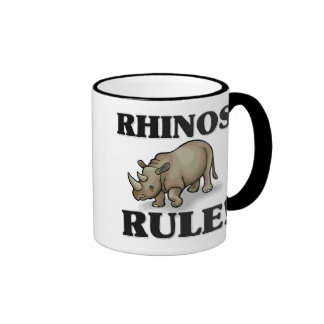 RHINOS Rule! Ringer Mug