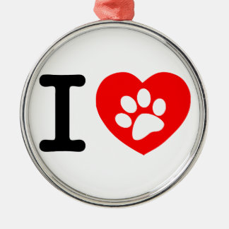 RHLAC RED HEART LOVE ANIMALS CAUSES MOTIVATIONAL CHRISTMAS ORNAMENTS