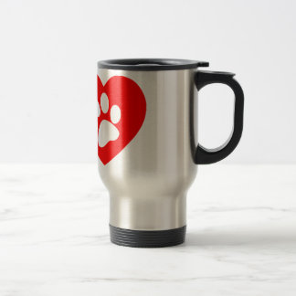 RHLAC RED HEART LOVE ANIMALS CAUSES MOTIVATIONAL COFFEE MUGS