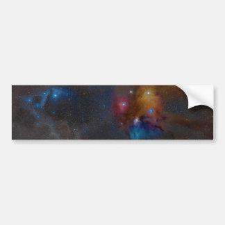 Rho Ophiuchi Cloud Complex Dark Nebula Car Bumper Sticker
