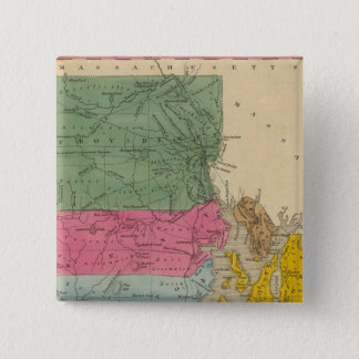 Rhode Island 15 Cm Square Badge