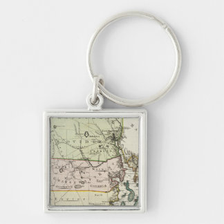 Rhode Island 2 Key Ring