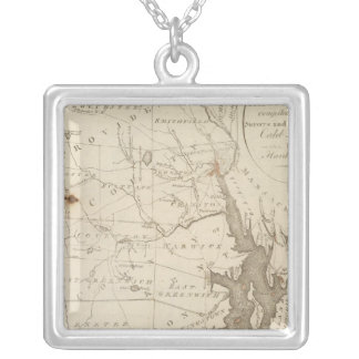 Rhode Island 2 Silver Plated Necklace