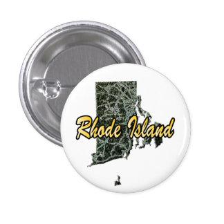 Rhode Island 3 Cm Round Badge