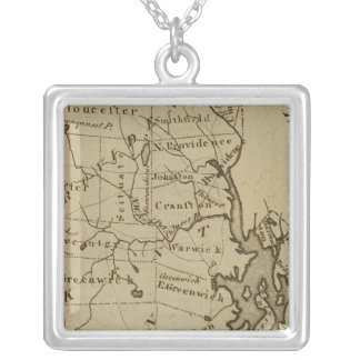 Rhode Island 4 Silver Plated Necklace