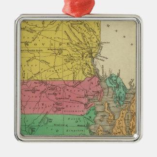 Rhode Island 5 Christmas Ornament