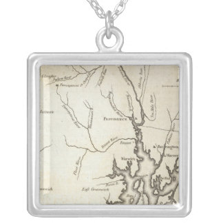 Rhode Island 8 Silver Plated Necklace