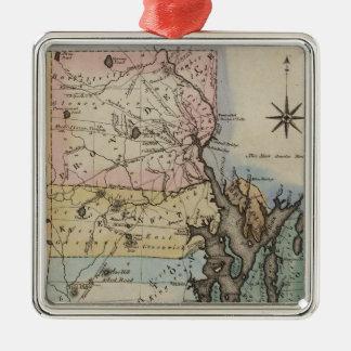 Rhode Island 9 Christmas Ornament