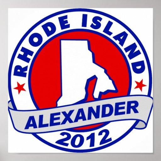 Rhode Island Alexander Poster