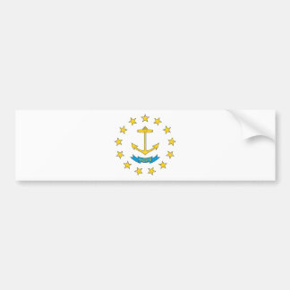 Rhode Island Anchor (HOPE) Bumper Sticker