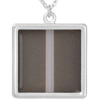 Rhode Island atlas Silver Plated Necklace