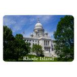 Rhode Island Capitol Premium Magnet