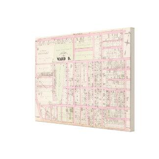 Rhode Island Catholic Orphan Asylum Atlas Map Canvas Print