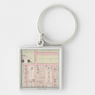 Rhode Island Catholic Orphan Asylum Atlas Map Key Ring