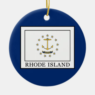 Rhode Island Christmas Ornament