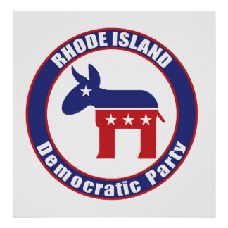 Rhode Island Democratic Party Posters
