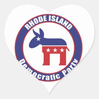 Rhode Island Democratic Party Stickers