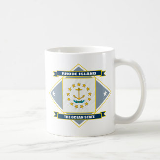 Rhode Island Diamond Coffee Mug