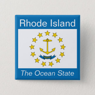 Rhode Island Flag Button