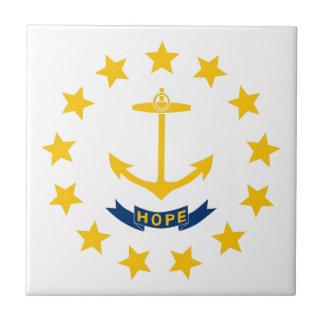 Rhode Island Flag Tile