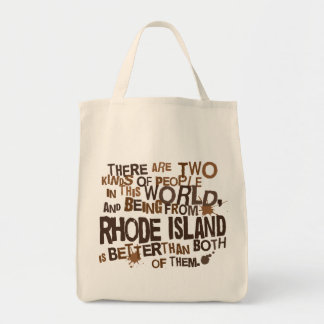 Rhode Island (Funny) Gift Tote Bag