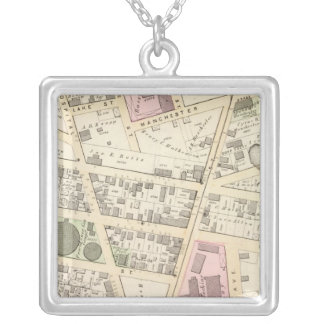 Rhode Island Hospital Cram School Silver Plated Necklace