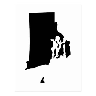 Rhode Island in Black and White Postcard
