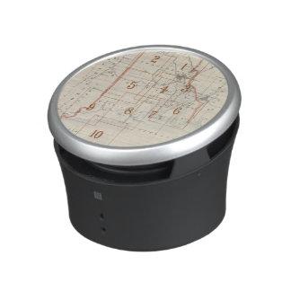 Rhode Island index map Bluetooth Speaker