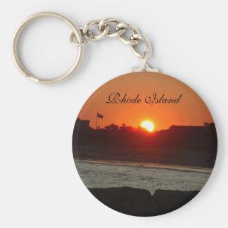 Rhode Island Key Ring