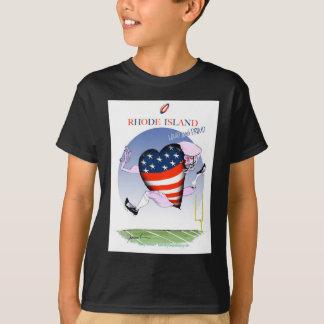 rhode island loud and proud, tony fernandes T-Shirt