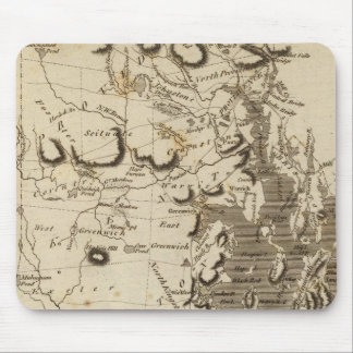 Rhode Island Map by Arrowsmith Mouse Mat