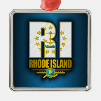Rhode Island (RI) Christmas Ornament