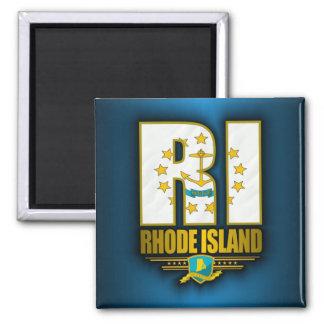 Rhode Island (RI) Square Magnet
