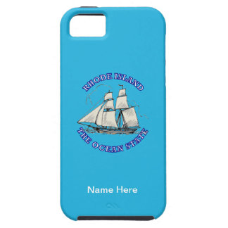 Rhode Island Sailing Ship Shield iPhone 5 Cases