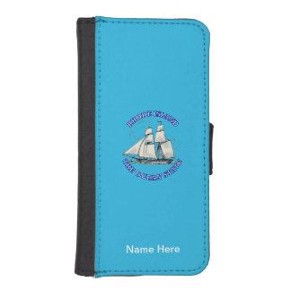 Rhode Island Sailing Ship Shield Phone Wallets