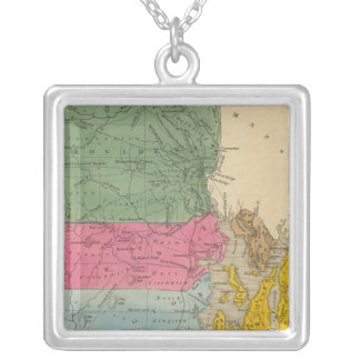 Rhode Island Silver Plated Necklace