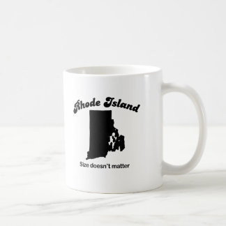 Rhode Island - Size doesn't matter Basic White Mug