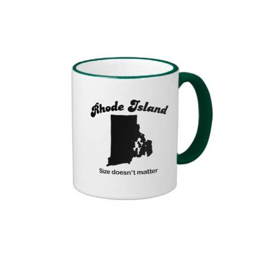 Rhode Island - Size doesn't matter Coffee Mug