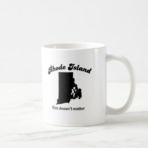 Rhode Island - Size doesn't matter Mug