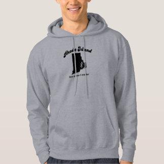 Rhode Island - Size doesn't matter Sweatshirts
