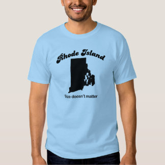 Rhode Island - Size doesn't matter T-shirt