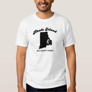 Rhode Island - Size doesn't matter T-shirts